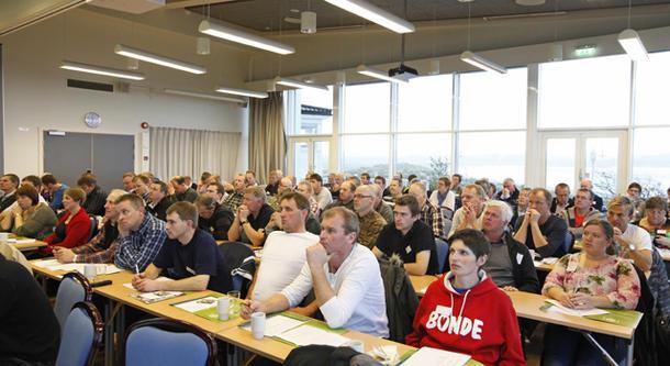 Ledersmøtet i Rogaland og Nord-Trøndelag Bondelag samler rundt 100 tillitsvalgte fra de to fylkene.