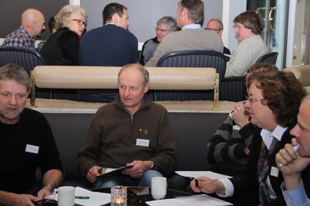 Gruppearbeid på ledermøtet 2013