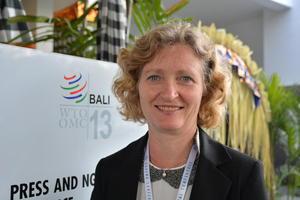 Kristin Ianssen, nestleder i Norges Bondelag. Foto: Hildegunn Gjengedal