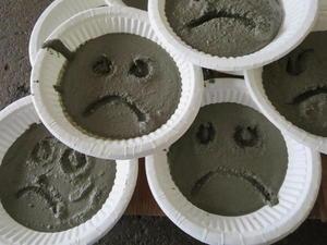 Betong-muffins, foto: Berit Storrø