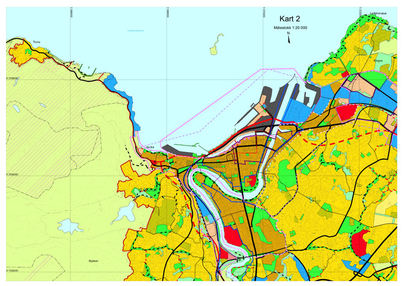 fjernvarme trondheim kart Arealplan Trondheim   Norges Bondelag fjernvarme trondheim kart