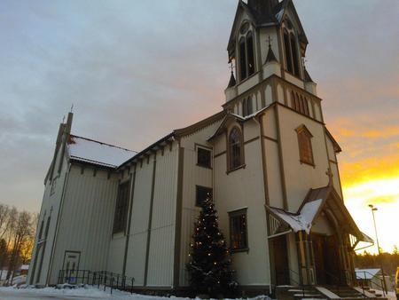 juletre bamble kirke 2013