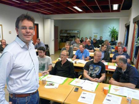 Ole Christian Hallesby, kurs Bedre Bonde i Molde 6. og 7. januar 2014 (Foto: Arild Erlien).