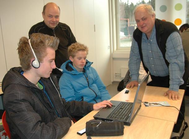 Rakkestad og Degernes Bondelag på Rakkestad ungdomsskole i desember 2011, foto: Arne Åsen.