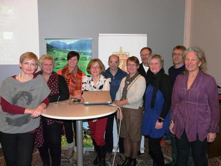 Innledere seminar i Molde 27. januar 2014 Bonden i tidsklemma (Foto: Arild Erlien)