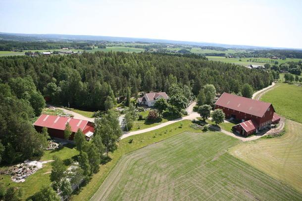 Hvem skal eie gårdene? Her fra Solberg Nordre i Skiptvet, Østfold.
