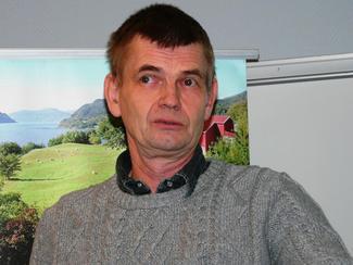 Rådgiver i Landbruk Nordvest, Sverre Heggset
