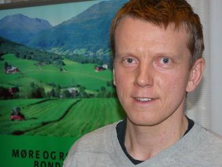 Rådgiver i Landbruk Nordvest, Sivert Mauset
