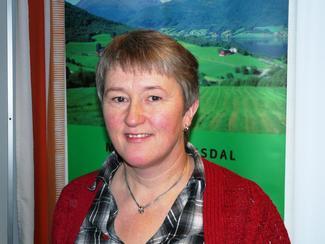 Styremedlem i Tine Meieriet Vest, Birgit Oline Kjerstad, Haram