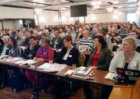220 deltakere på næringskonferansen (Foto: Arild Erlien)