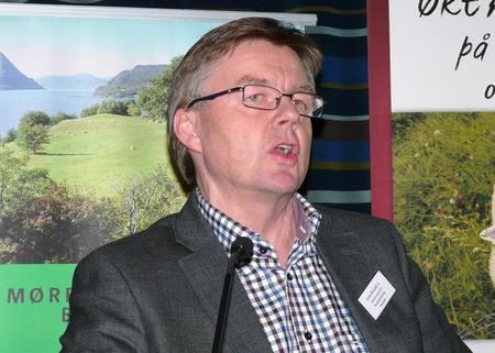 Direktør ved Norsk senter for Bygdeforskning, Harald A. Lein (Foto: Arild Erlien).