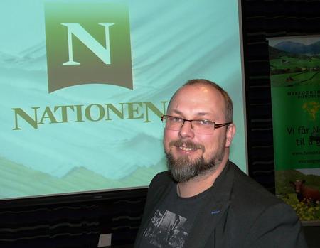 Politisk redaktør i Nationen, Kato Nykvist (Foto: Arild Erlien)