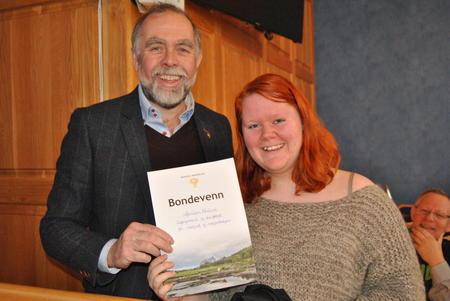 Lars Morten Rosmo og bondevenn Anniken Wullum