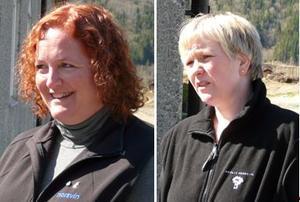 Satellittbøndene Linda Gjerde Myren fra Norddal og Jorunn Gunnerød fra Molde.