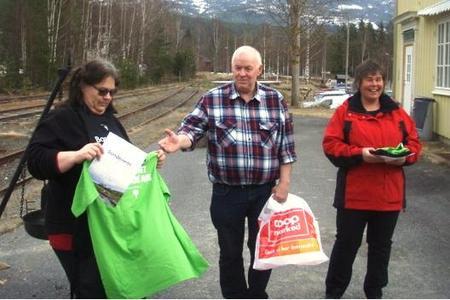 Bilde: Anne Berit Nikolaisen, Kjell Terje Løver og Anne Beate Rye Teigen.
