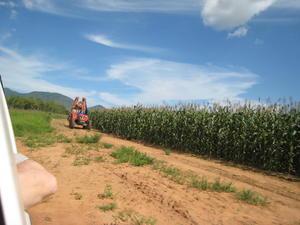 Tørke vil medføre større problemer for bønder varmere strøk. Bildet er fra Bondelagets Malawi-prosjekt.