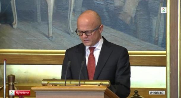 Europaminister Vidar Helgesen uttrykte tidligere at regjeringen ønsker å reversere tollsatsene på ost og kjøtt. Foto: TV 2