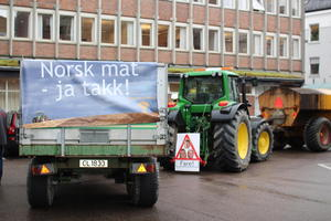 Bønder mobiliserer i Oslo