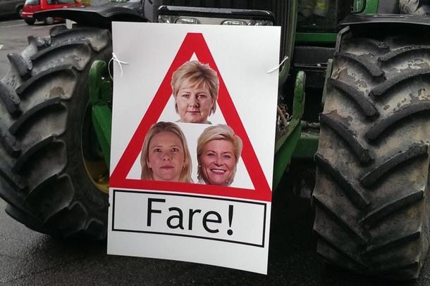 Over hele landet er det klart for bondeaksjoner etter brudd i jordbruksforhandlingene.
