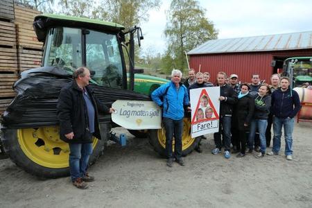 Alle lokallag i Levanger og Verdal Bondelag samarbeider om årets aksjoner