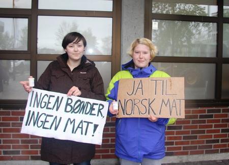 Ingrid Hovstad og Anne Merete Spissøy Sørensen