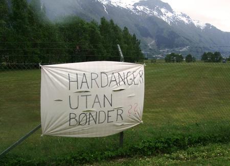 Kva er Hardanger utan bønder?