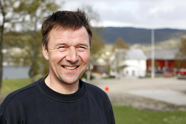 Fornøyd: bondelagsleder Lars Petter Bartnes gleder seg over flere medlemmer i Norges Bondelag.