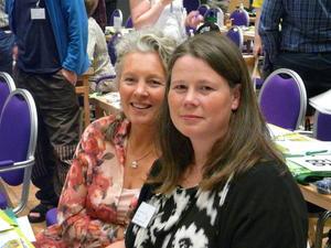 Anne Katrine Jensen, Gjemnes (t.v.) og Gunnhild Overvoll, Stranda.