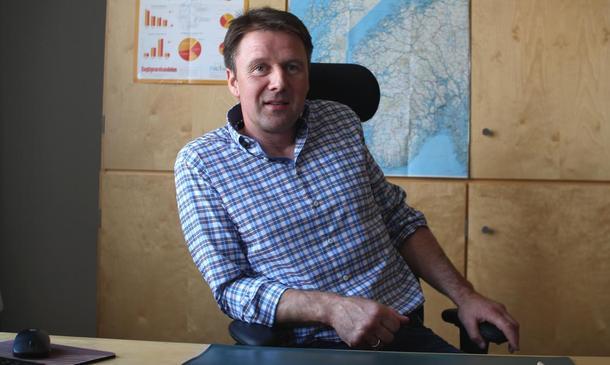 Leder i Norges Bondelag. Lars Petter Bartnes