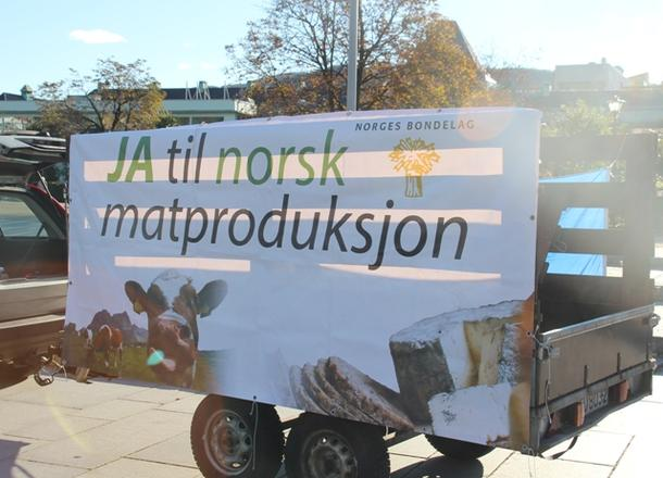 Ja til norsk matproduksjon!