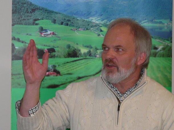 Einar Frogner, rovdyransvarlig i styret i Norges Bondelag