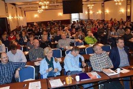 Konferansen samlet 140 deltakere (Alle fotos: Arild Erlien).