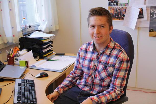 Otto Galtung var organisasjonssjef i Norges Bondelag for ein dag i samband med Operasjon Dagsverk 2014.