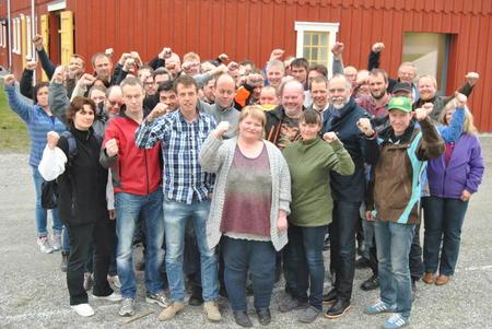 Kampklare lokallagsledere i Sør-Trøndelag Bondelag 2014
