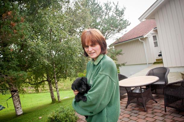 ALDRI I TVIL: Nina Høyem sier hun aldri var i tvil om de skulle overta familiegården. Det valget har hun aldri angret på siden.