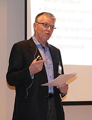 Olav Sandlund, landbruksdirektør i Vestfold