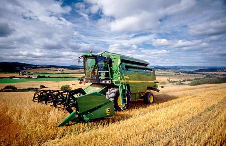 Korntresking i Inderøy