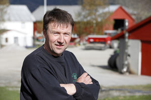 Bondelagsleder Lars Petter Bartnes.
