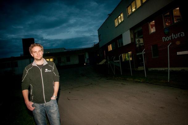 SPENNENDE: Håvard T. Jystad (27) jobber som rådgiver på storfe i Nortura i Steinkjer. En spennende jobb med mange hyggelige og flinke kolleger sier han selv.