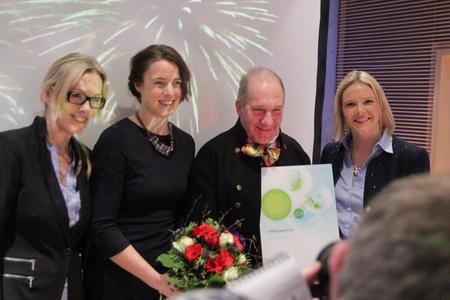 Glade prisvinnere, Rørosmat, fikk BU-prisen på 250.000 kroner.