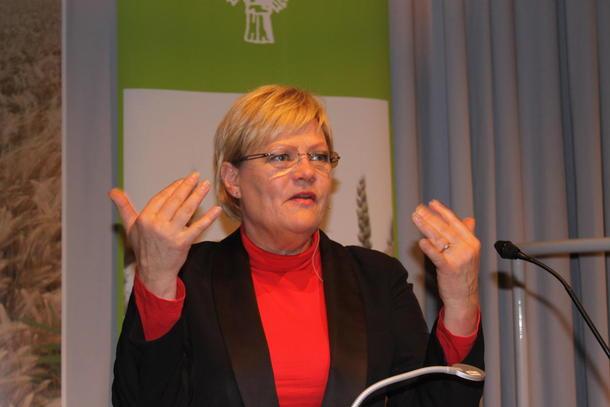 Direktør i CICERO, Kristin Halvorsen. Foto: Guro Bjørnstad