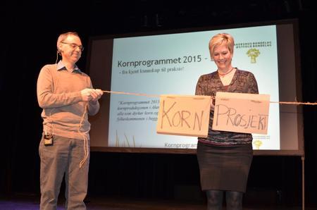 åpning av kornprogrammet 2015-2017 Foto: Bjørnar Frønes, Bondebladet