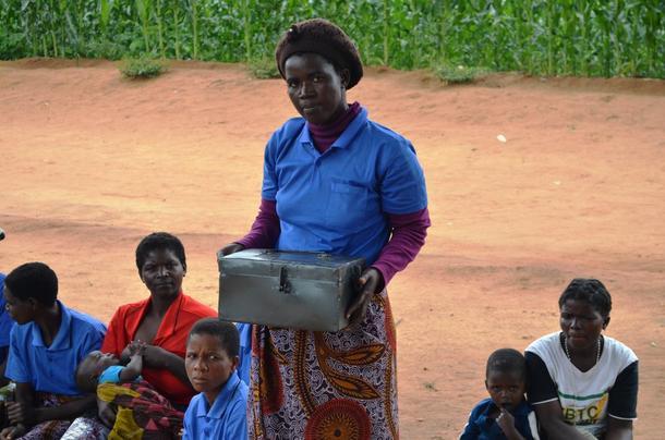 En lokal sparekasse for sparing og smålån er kommet i stand gjennom Utviklingsfondets arbeid i Malawi.