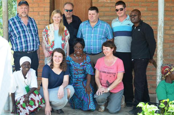 Fra besøket Norges Bondelag og Norges Bygdeungdomslag hadde i Malawi i 2015.