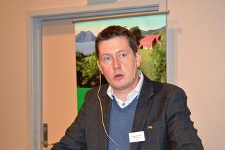 Fylkesleder i Møre og Romsdal Bondelag, Inge Martin Karlsvik.