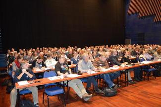 Næringskonferansen samlet 180  deltakere (Foto: Arild Erlien).