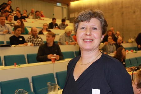 Martha Mjølnerød gjenvalgt som leder i Østfold Bondelag.