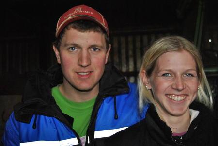 Hanne og Arild Helland Holstein fra Rogaland Sør-Trøndelag Bondelag