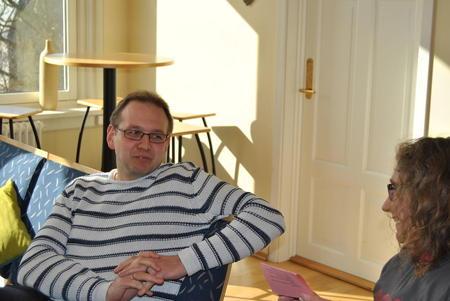 Pål Martin Daling hos FMLA