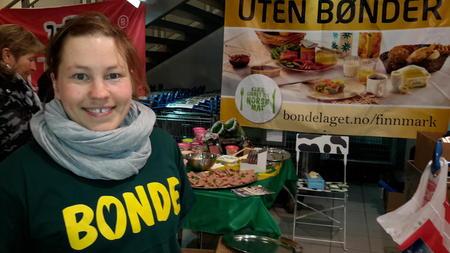 Hanne Harila, melkebonde i Vadsø, Nordre Varanger Bondelag